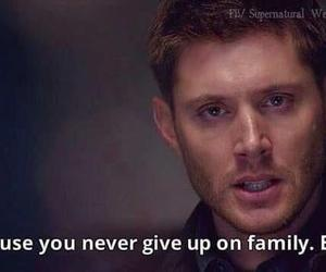 dean winchester, family, and spn image