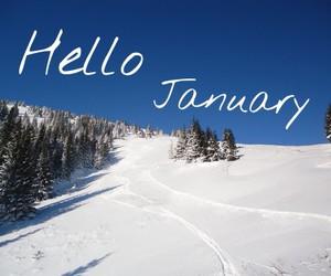 hello, hello january, and january image
