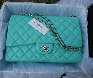 chanel, bag, and blue image