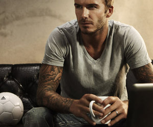 David Beckham, sexy, and Hot image