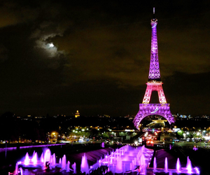 dark, paris, and photography image