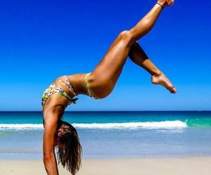 bikini, fit, and gym image