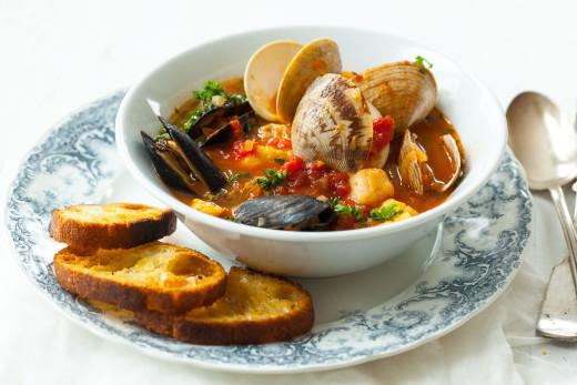 seafood and seafood stew image
