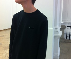 black, boy, and nike image