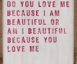 love, beautiful, and text image