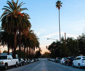 california, street, and car image