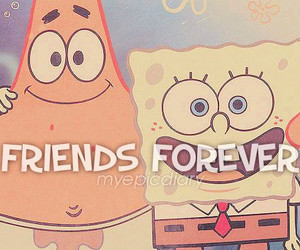 friends, forever, and patrick image