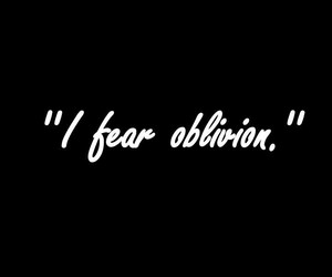 fear and Oblivion image