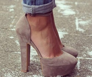 beautiful, heels, and fashion image