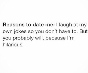 funny, date, and laugh image