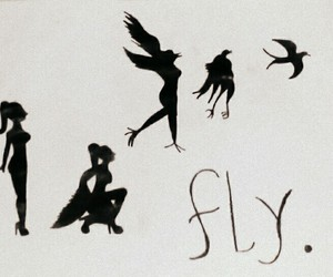 believe, fly, and girl image