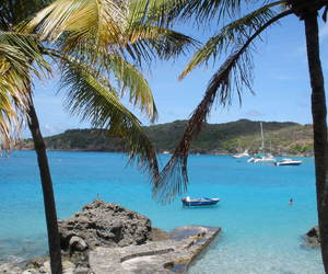 beach, sun, and st barth image