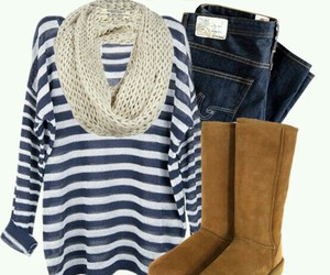 fashion, outfit, and uggs image