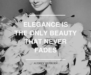 quotes, elegance, and audrey hepburn image