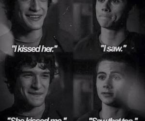 teen wolf, kiss, and stiles image