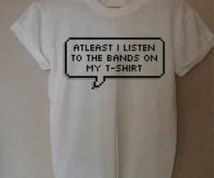 band, music, and shirt image