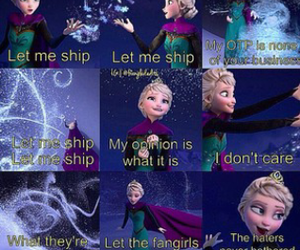 let it go and fangirl image