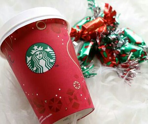 candy, christmas, and starbuck image