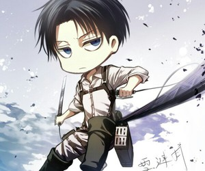 levi, shingeki no kyojin, and attack on titan image