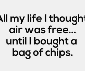 air, chips, and money image