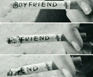boyfriend, friend, and end image
