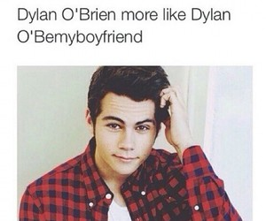 dylan o'brien, funny, and boyfriend image