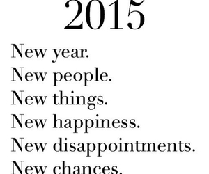 chances, new year, and happiness image