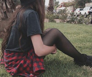 grunge and redhair image