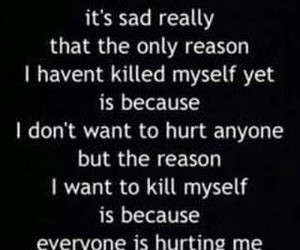death, quote, and sad image