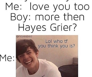 boy, hayes, and grier image