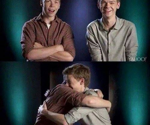 the maze runner, will poulter, and thomas sangster image
