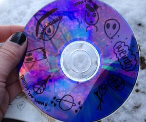 cd, alien, and grunge image
