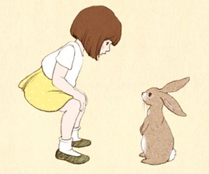 cute, bunny, and 1973 image