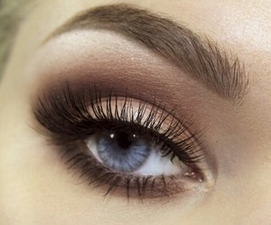 beautiful, girly, and eye image