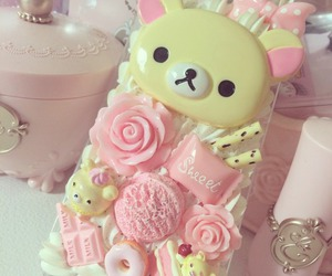 kawaii, rilakkuma, and pastel image