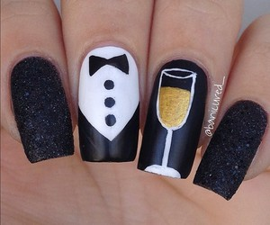 moda, uñas, and nails image