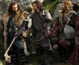 dwarf, thorin, and the hobbit image