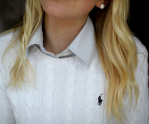 girl, nice, and preppy image