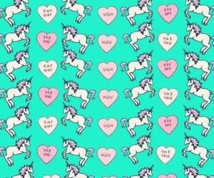 unicorn, background, and wallpaper image