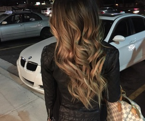 hair, beauty, and car image