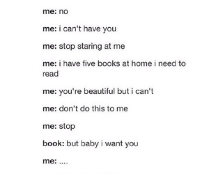 books, funny, and girl image