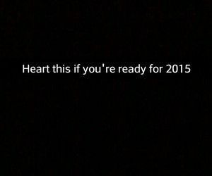 ready, newyear, and 2015 image