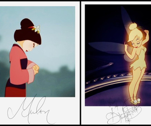 autograph, disney, and illustration image
