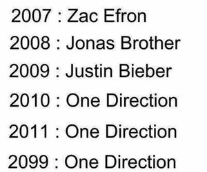 one direction, zac efron, and 1d image