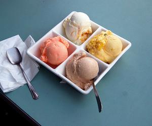ice cream, food, and dessert image