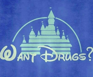drugs, disney, and castle image