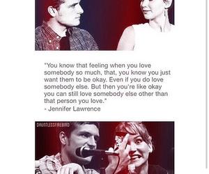 Jennifer Lawrence, josh hutcherson, and joshifer image