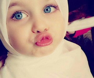 beautiful, child, and hijab image