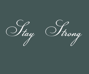demi lovato, tattoo, and stay strong image