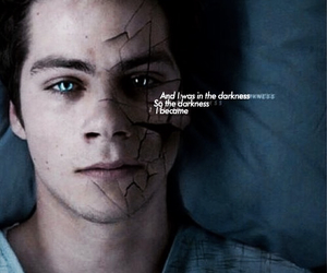 teen wolf, Darkness, and stiles image